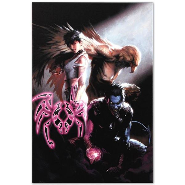 """Marvel Comics """"Ultimate X-Men #95"""" Numbered Limited Edition Giclee on Canvas by Gabriele Dell'Otto w"""