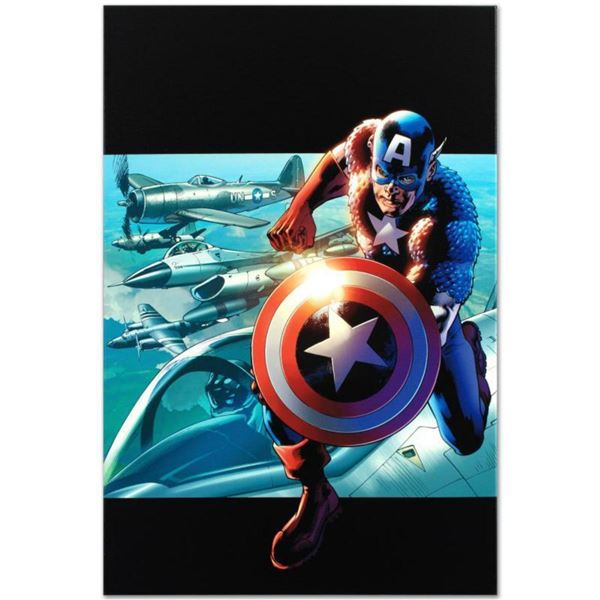 "Marvel Comics ""Captain America: Man Out Of Time #2"" Numbered Limited Edition Giclee on Canvas by Bry"