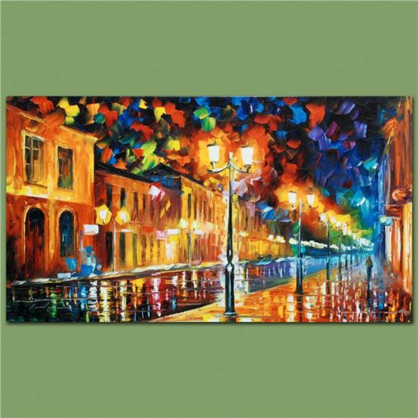 "Leonid Afremov (1955-2019) ""Infinity"" Limited Edition Giclee on Canvas, Numbered and Signed. This pi"