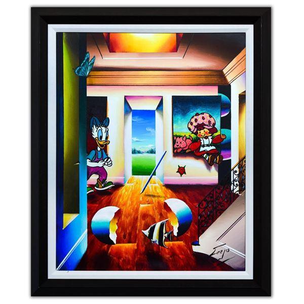 "Ferjo- Original Oil on Canvas ""Scrumptious"""