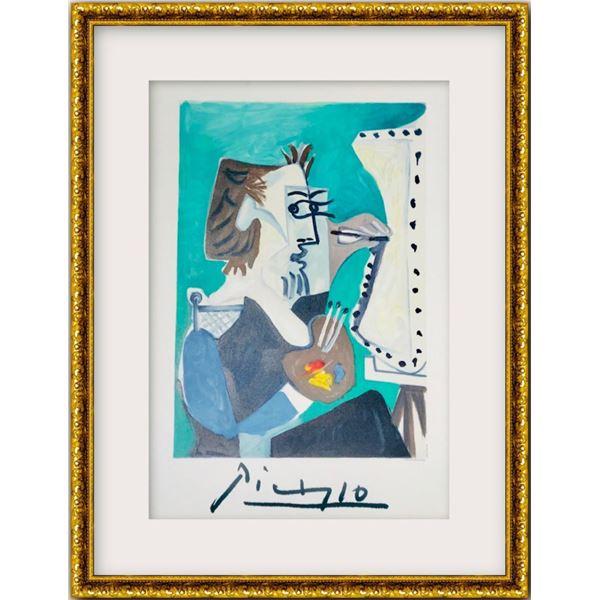 """Pablo Picasso- Lithograph on Arches Paper """"Le Peintre"""""""