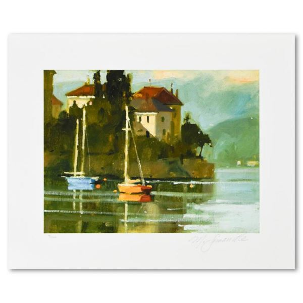 """Marilyn Simandle, """"Varenna"""" Limited Edition, Numbered and Hand Signed with Letter of Authenticity."""