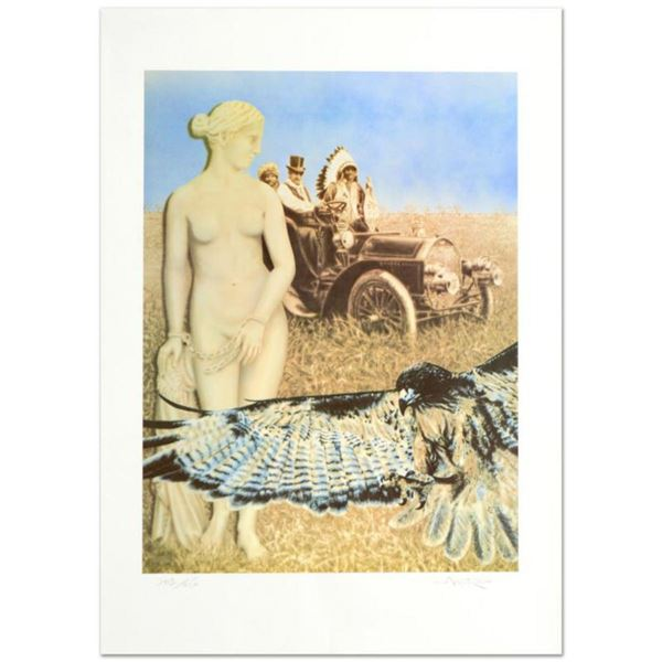 """""""Hopelessly Watching"""" Limited Edition Lithograph by Robert Anderson, Numbered and Hand Signed by the"""