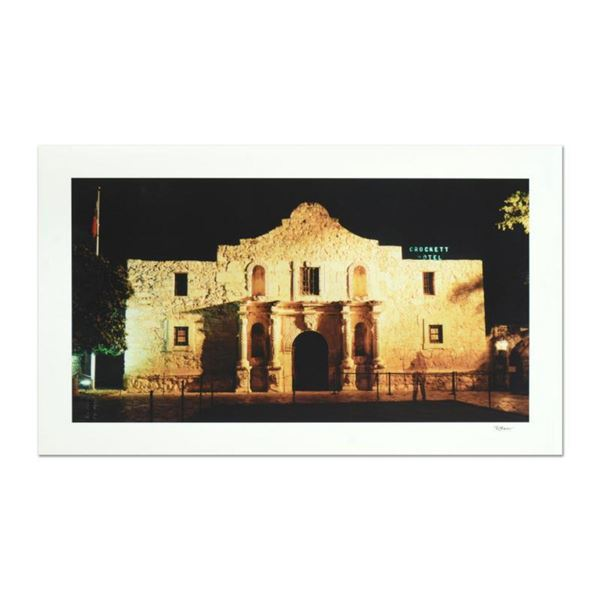 """Robert Sheer, """"Davy Crockett at the Alamo"""" Limited Edition Single Exposure Photograph, Numbered and"""