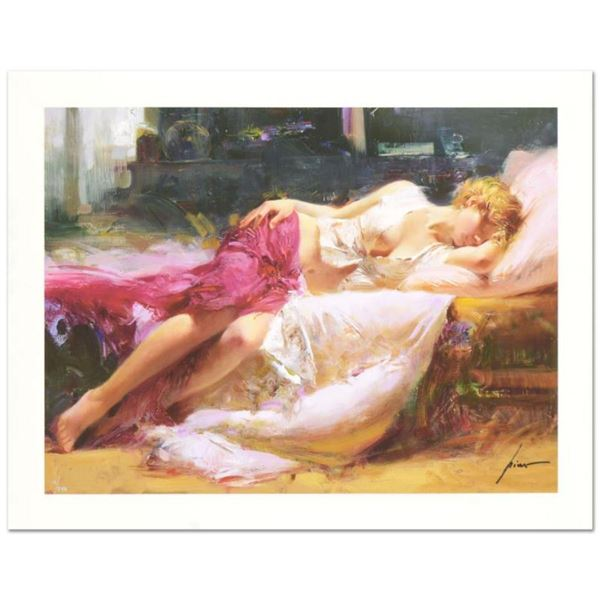 """Pino (1939-2010) """"Dreaming in Color"""" Limited Edition Giclee. Numbered and Hand Signed; Certificate o"""