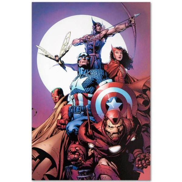 """Marvel Comics """"Avengers #80"""" Numbered Limited Edition Giclee on Canvas by David Finch with COA."""