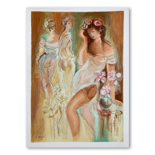 """Batia Magal, """"Sexuality"""" Hand Signed Limited Edition Serigraph on Paper with Letter of Authenticity."""