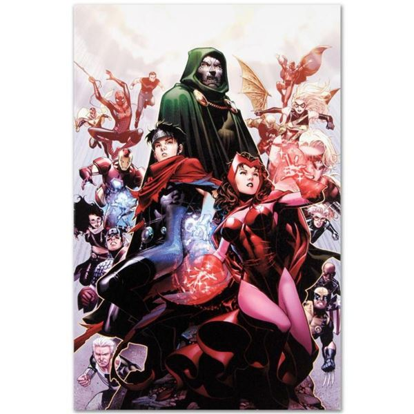 """Marvel Comics """"Avengers: The Children's Crusade #4"""" Numbered Limited Edition Giclee on Canvas by Jim"""
