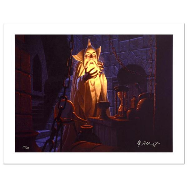 """""""Saruman And The Palantir"""" Limited Edition Giclee on Canvas by The Brothers Hildebrandt. Numbered an"""