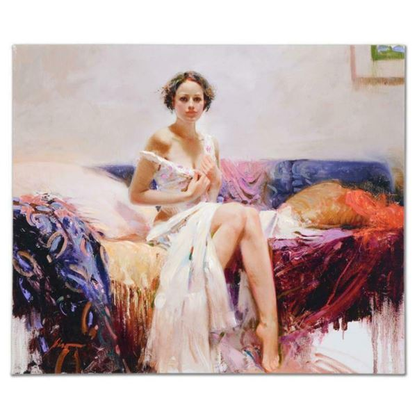 "Pino (1939-2010), ""Sweet Sensation"" Artist Embellished Limited Edition on Canvas (38"" x 32""), AP Num"