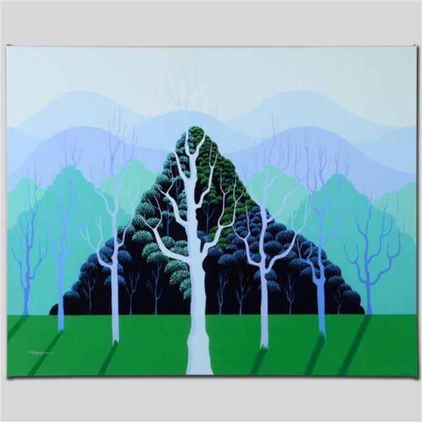 """Eucalyptus"" Limited Edition Giclee on Canvas by Larissa Holt, Numbered and Signed. This piece comes"