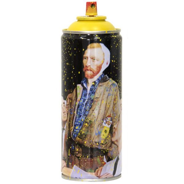 "Mr. Brainwash- SPRAY CAN ""VAN GOGH, 2020"""