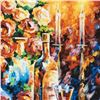 """Image 2 : Leonid Afremov (1955-2019) """"Shabbat II"""" Limited Edition Giclee on Canvas, Numbered and Signed. This"""