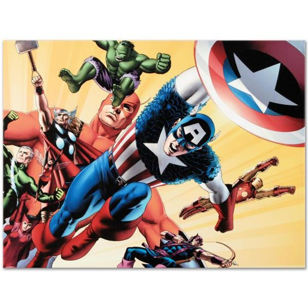 """Marvel Comics """"Fallen Son: Death of Captain America #5"""" Numbered Limited Edition Giclee on Canvas by"""