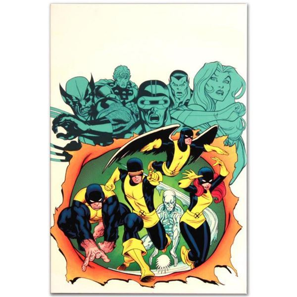 """Marvel Comics """"X-Men Giant-Size #1"""" Numbered Limited Edition Giclee on Canvas by Ed McGuinness with"""