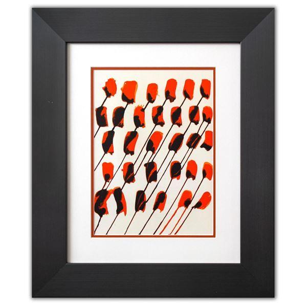 """Alexander Calder- Lithograph """"DLM156 - Composition taches rouges"""""""