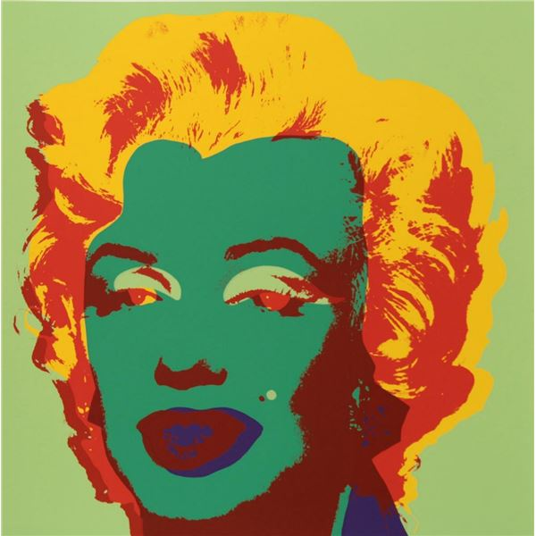 "Andy Warhol- Silk Screen ""Marilyn Monroe 11.25"""