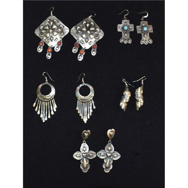 NAVAJO INDIAN EARRINGS