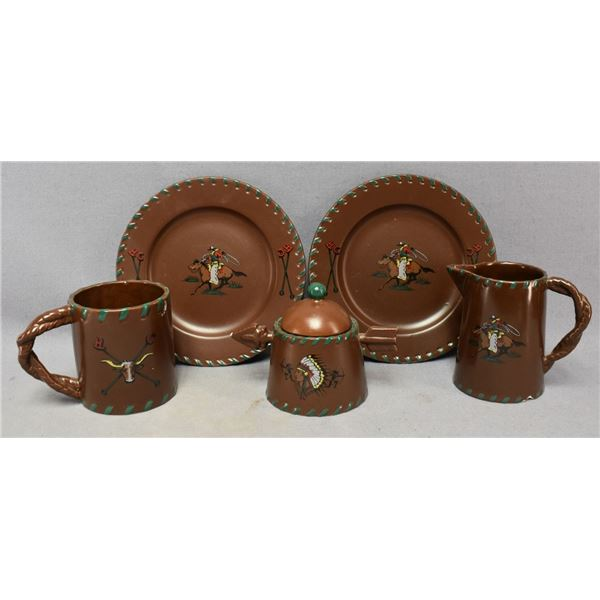 WESTERN PATTERN DISHES