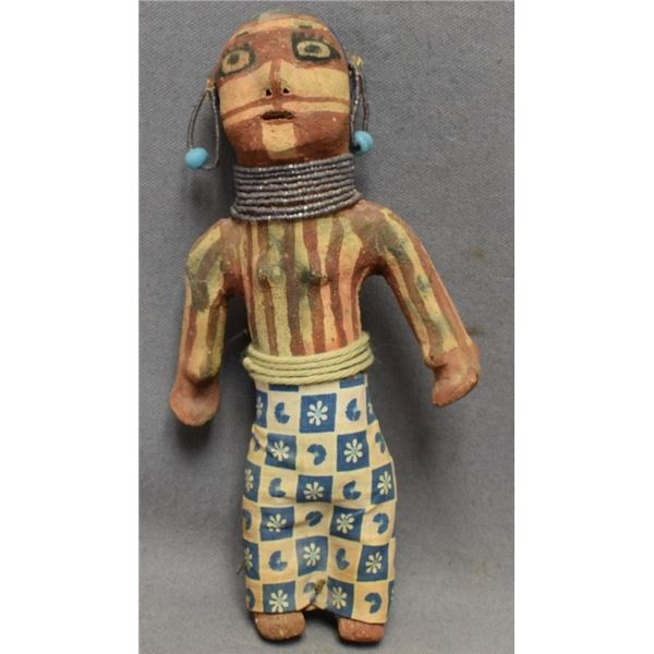 MOJAVE INDIAN POTTERY DOLL (ANNIE FIELDS)