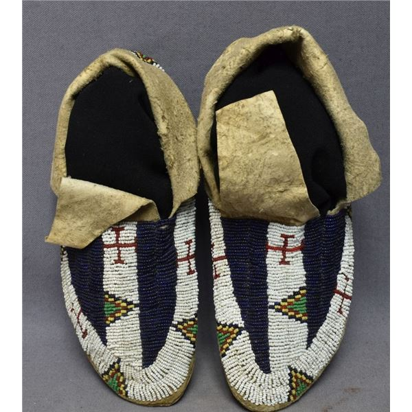 SIOUX INDIAN MOCCASINS