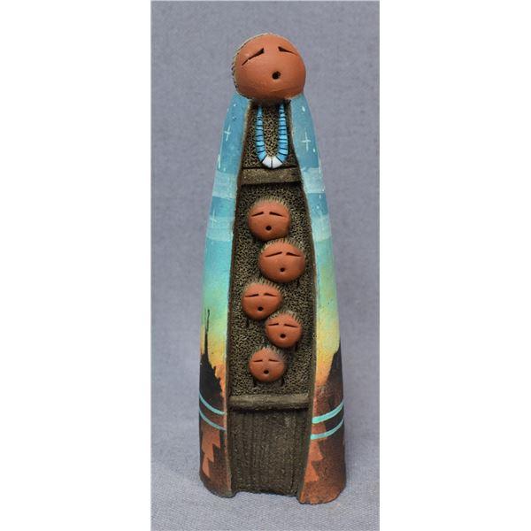 NAVAJO INDIAN POTTERY FIGURE (JOHN WHITEROCK)