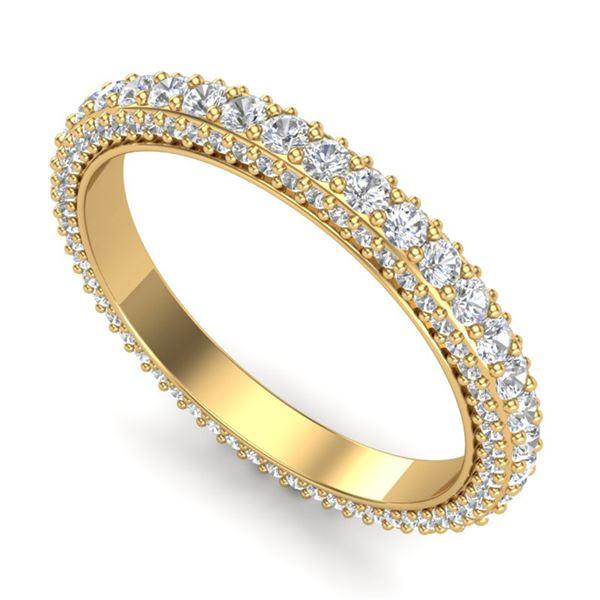 1.75 ctw VS/SI Diamond Art Deco Eternity Eternity Ring 18k Yellow Gold - REF-149A3N