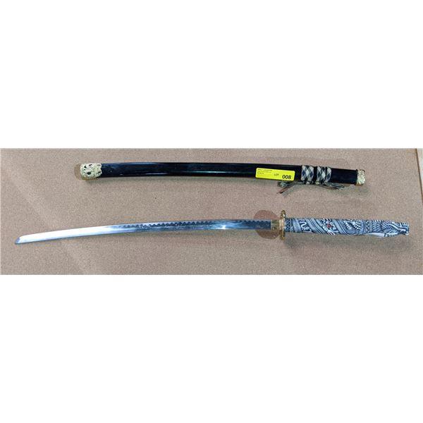 Samurai sword w/scabbard from the show