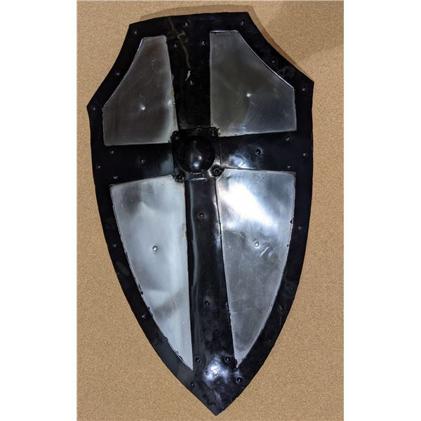 Hand crafted Crusades shield w/cross from the show