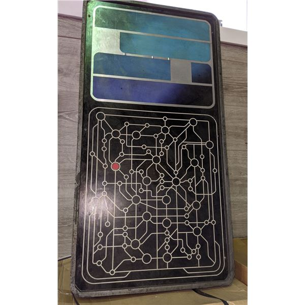 """Light up sci-fi sign board from the sci-fi show - 36"""" x 19"""""""