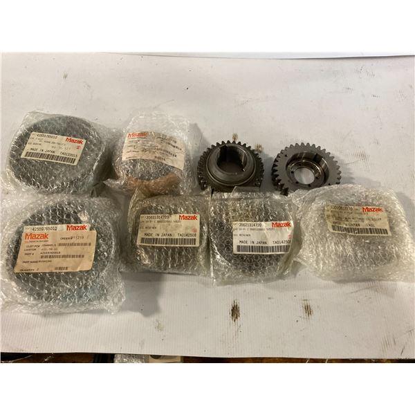 Lot of New? Mazak Bushing/Retainer/Gears
