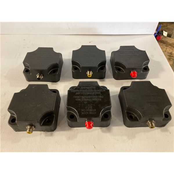 Lot of (6) TS Transmitters, P/N: 33-0110-07