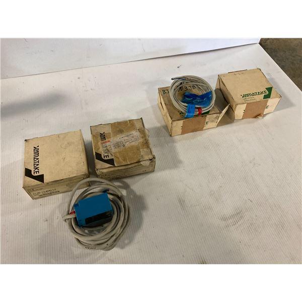 Lot of (5) Yamatake Sensors
