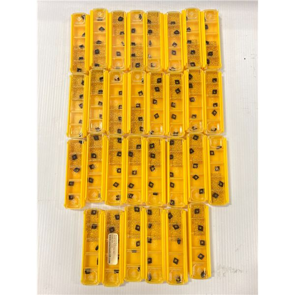 Lot of (150) New? Kennametal Carbide Inserts, P/N: CPMT2152LF