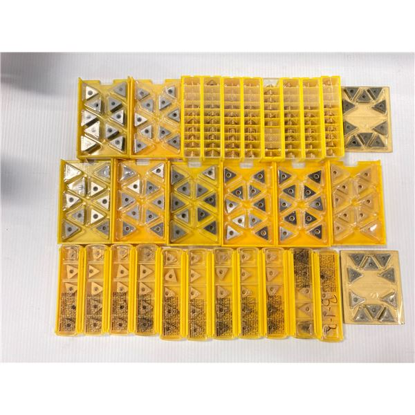 Lot of (250) New? Kennametal Carbide Inserts, P/N: TNMA 332
