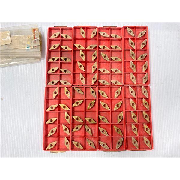 Lot of (80) New? Sandvik Carbide Inserts, P/N: VBMT 333-UR