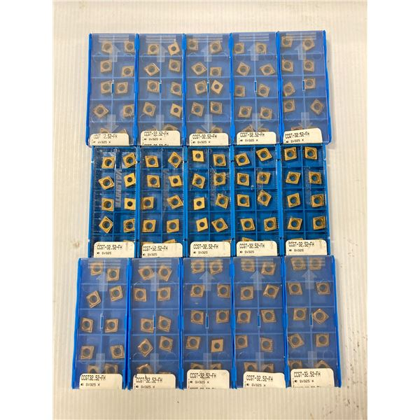 Lot of (150) New? Valenite Carbide Inserts, P/N: CCGT-32.52-FH