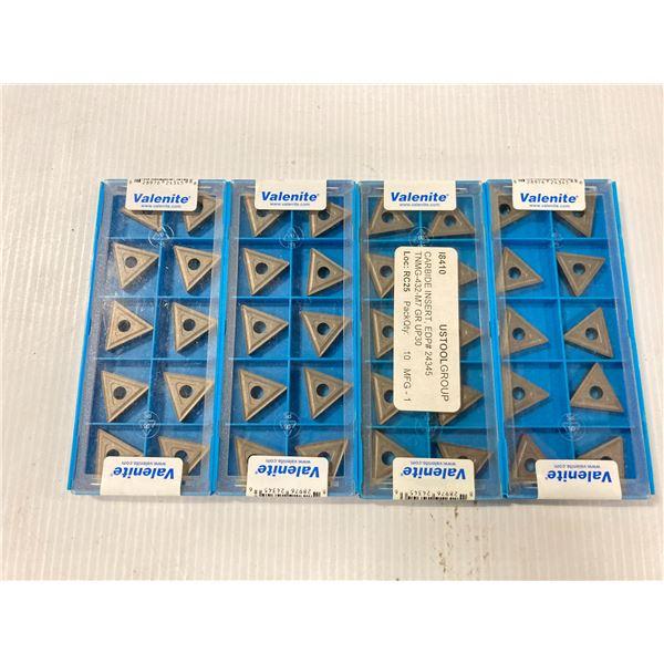 Lot of (40) New? Valenite Carbide Inserts, P/N: TNMG 432 M7