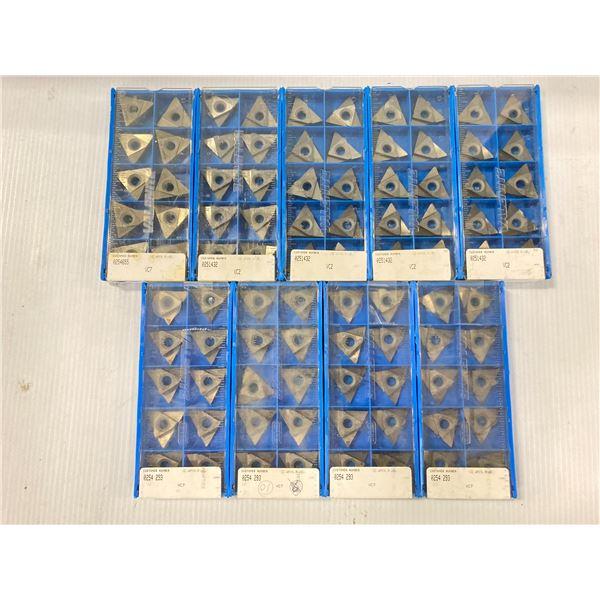Lot of (90) New? Valenite Carbide Inserts, P/N: TNMC XXX