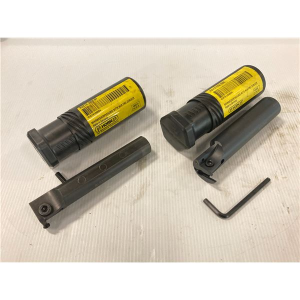(2) PH Horn Indexable Grooving Tool Holders