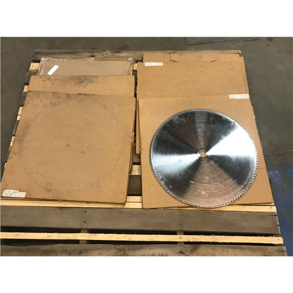 LOT OF (7) LARGE SAW BLADE