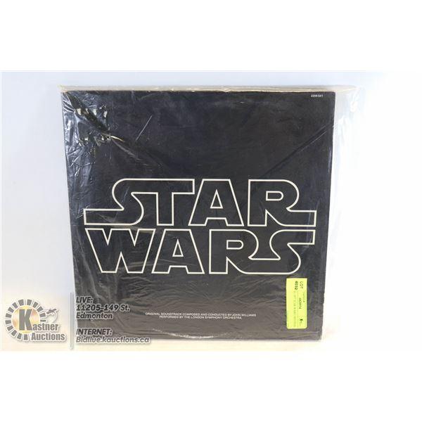 "VINTAGE 1977 STAR WARS ORIGINAL SOUNDTRACK 2 VINYL LP ALBUM WITH SLEEVES, POSTER ""COMPLETE"" 20TH CEN"