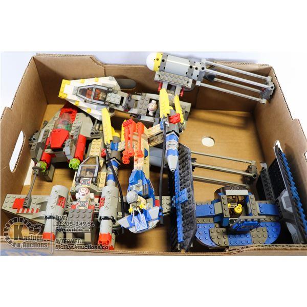 FLAT OF STAR WARS LEGO MULTIPLE SETS
