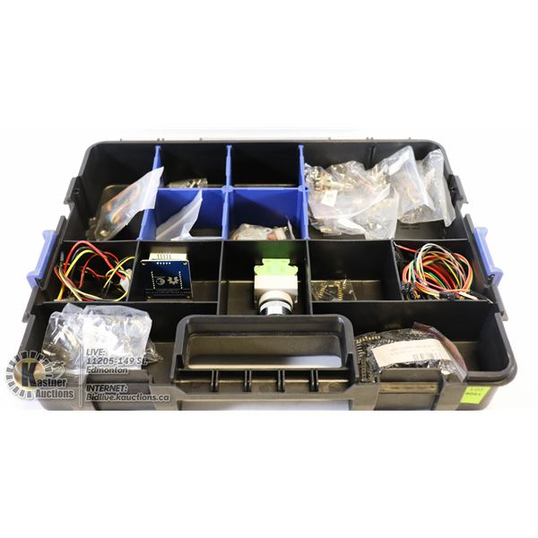 CASE OF VARIOUS ELECTRONIC COMPONENTS