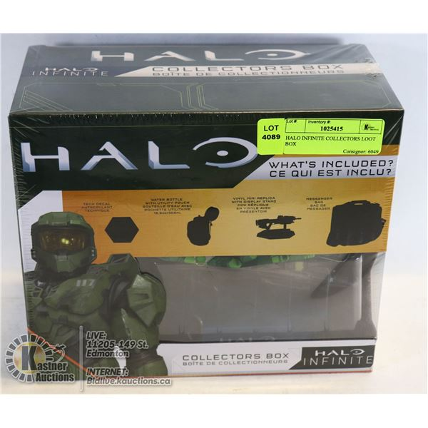 HALO INFINITE COLLECTORS LOOT BOX OFFICIALLY LICENSED NOT A STORE RETURN