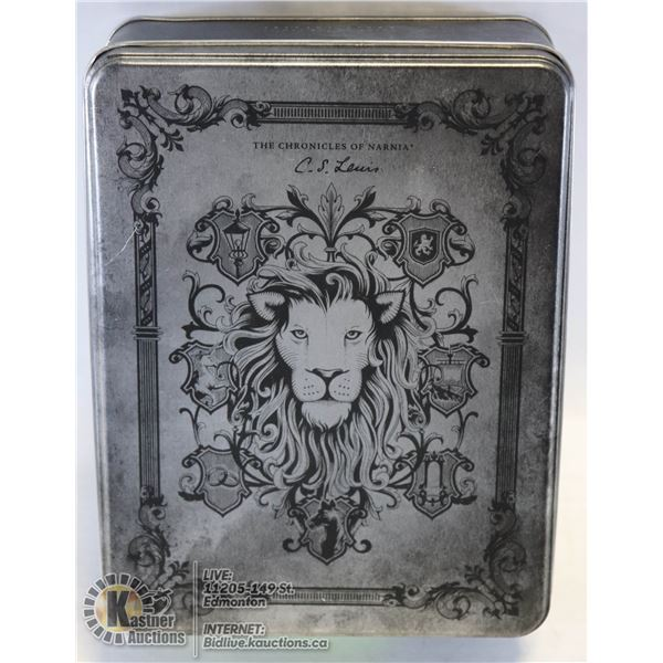 SPECIAL EDITION CHRONICLES OF NARNIA AUDIOBOOK IN CD WITH COLLECTORS TIN
