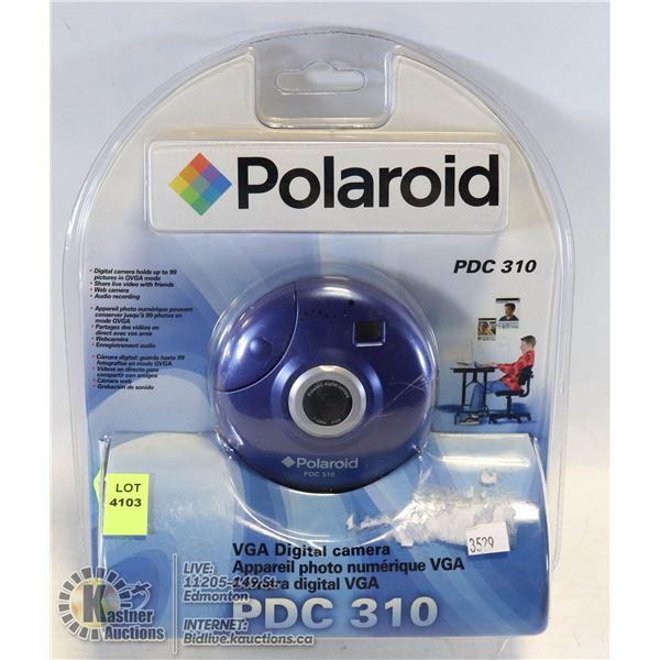 POLAROID PDC310 DIGITAL WEBCAM