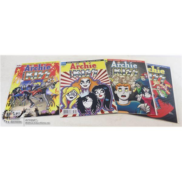 ARCHIE COMICS #627-630 ARCHIE MEETS KISS