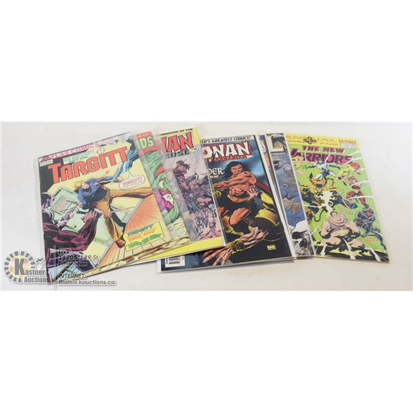 LOT WITH 7 #1 ISSUE COMICS