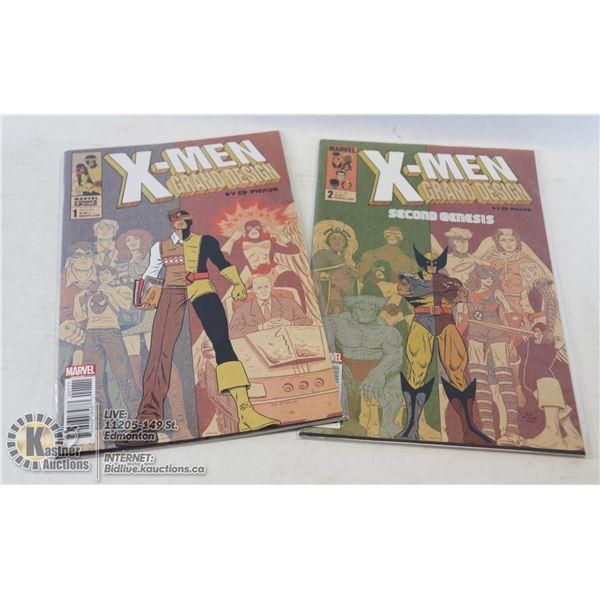 MARVEL X-MEN GRAND DESIGN #1-2